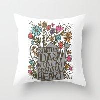 GRATEFUL HEART Throw Pillow