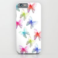 iPhone & iPod Case featuring Colorful flowering butterflies. Floral photo art. by NatureMatters