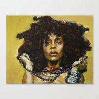 Erykah Badu Canvas Print