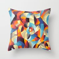 Throw Pillow featuring Color Power by Anai Greog