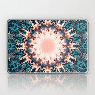 Abstract Fractal Sun Laptop & iPad Skin