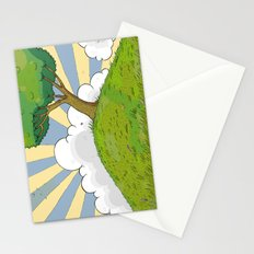 I want to be there Stationery Cards