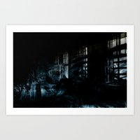 Ghost Building Art Print