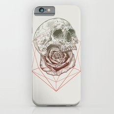 Skull Rose Geo Slim Case iPhone 6s