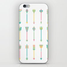 Pastel Arrows iPhone & iPod Skin