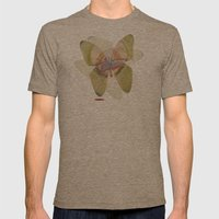 Pequeño Mens Fitted Tee Tri-Coffee SMALL