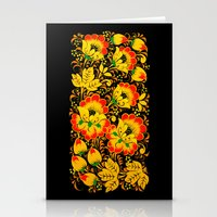 Flower Design Stationery Cards