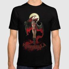Vampirella Mens Fitted Tee Black SMALL