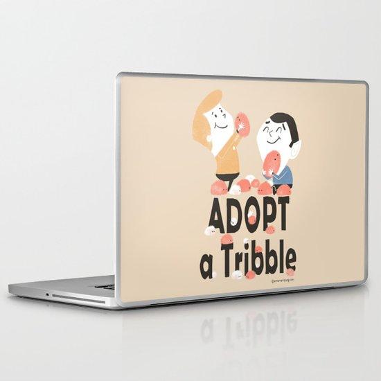 Adopt a Tribble Laptop & iPad Skin