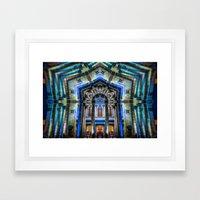 Kaleidoscape: Guadalajara Framed Art Print