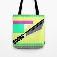 BOOBS !¡!¡! — Shapes… Tote Bag
