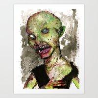 Minor Orc Art Print