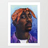Tupac Shakur, 2Pac, Maka… Art Print