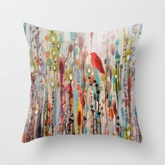 La Vie Comme Un Passage Throw Pillow