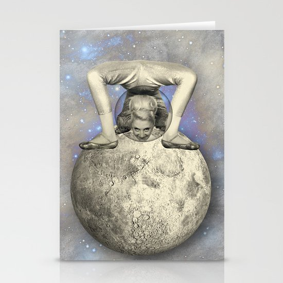COSMIC CONTORTIONIST Stationery Card