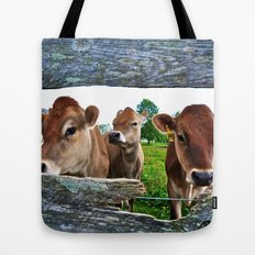 The Other Side Of The Fence Tote Bag
