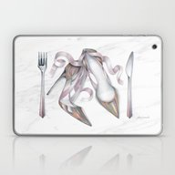 No Carbs For Dinner: Gla… Laptop & iPad Skin