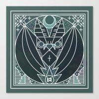 Bat From Transylvania Canvas Print