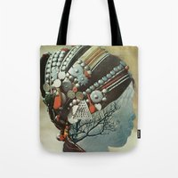 capillaries Tote Bag