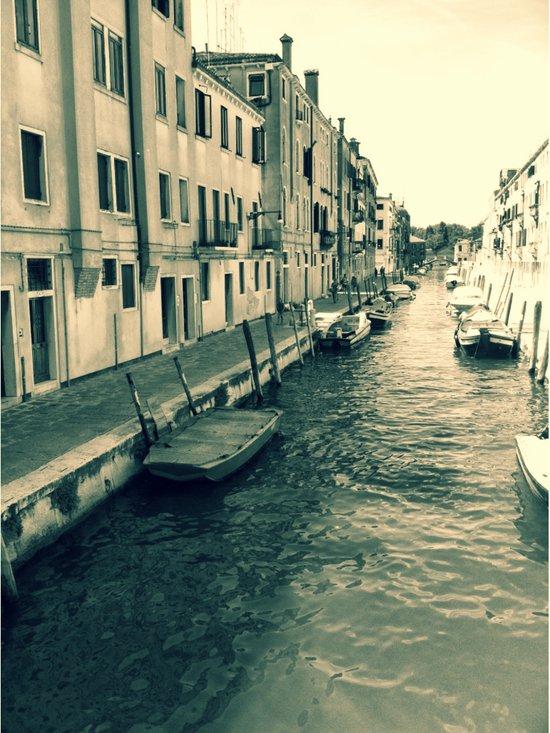 Venezia, where my heart is Canvas Print