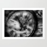 Time Traveler Art Print