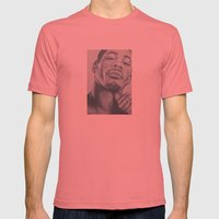Didier Morville Mens Fitted Tee Pomegranate SMALL