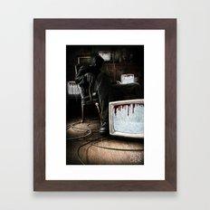 What We Bleed Framed Art Print
