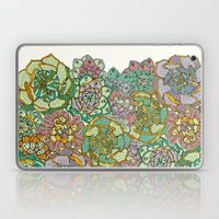 Blooming Succulents Laptop & iPad Skin