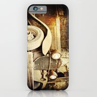 Vintage metal iPhone 6 Slim Case