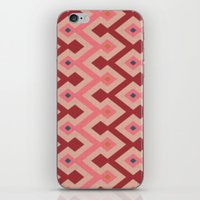 Kilim In Pink iPhone & iPod Skin