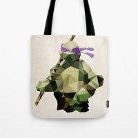 Polygon Heroes - Donatel… Tote Bag
