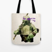 Polygon Heroes - Donatello Tote Bag