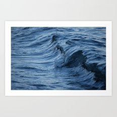 Raw Wet Art Print