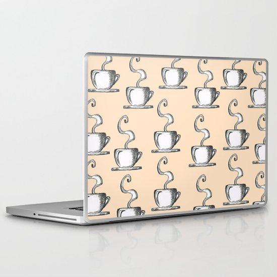 Cups Of Coffee Laptop & iPad Skin