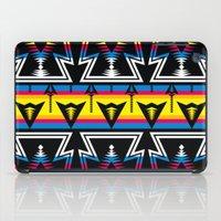Large Native America inspired blanket print iPad Case