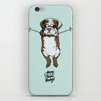 Hang In There Baby Engli… iPhone & iPod Skin