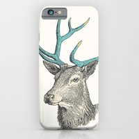 iPhone & iPod Case featuring Party Animal - Deer by Zeke Tucker