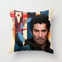Far Cry 4 - Ajay Ghale Throw Pillow