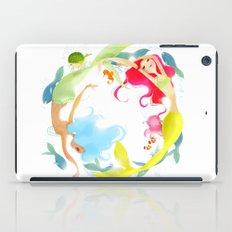 Mermaid Circle iPad Case