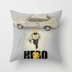 Real Hero Throw Pillow