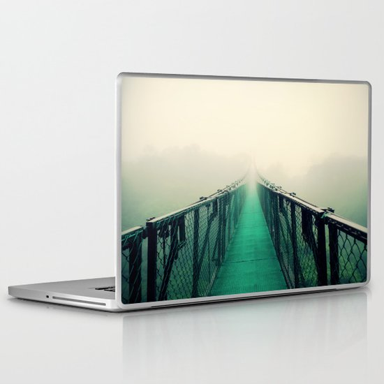 suspension bridge Laptop & iPad Skin