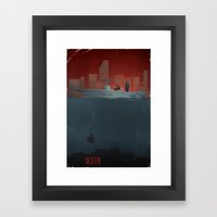 DEXTER Framed Art Print