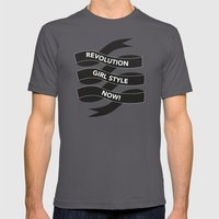 Revolution Girl Style No… Mens Fitted Tee Asphalt SMALL