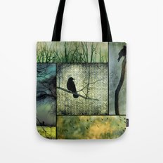 Square Of Crows Tote Bag