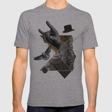 Like a nature Mens Fitted Tee Athletic Grey SMALL