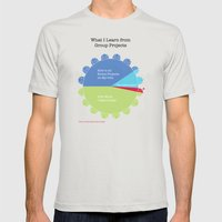 Group Projects Mens Fitted Tee Silver SMALL