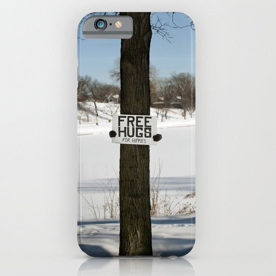 Free Hugs Tree iPhone & iPod Case