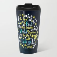 Shatter Me - Stars quote design Travel Mug