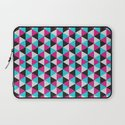 Space Triangles Laptop Sleeve