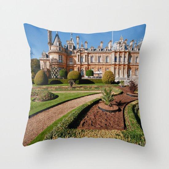 Waddesdon Manor Throw Pillow